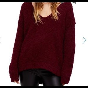 Free People Lofty Pull over sweater NWT